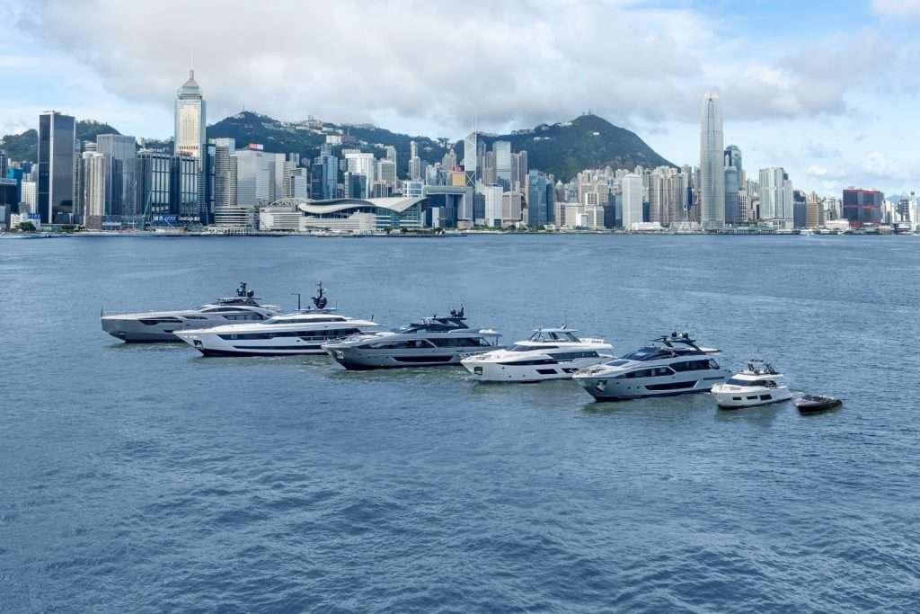 Ferretti Group fleet in Hong Kong