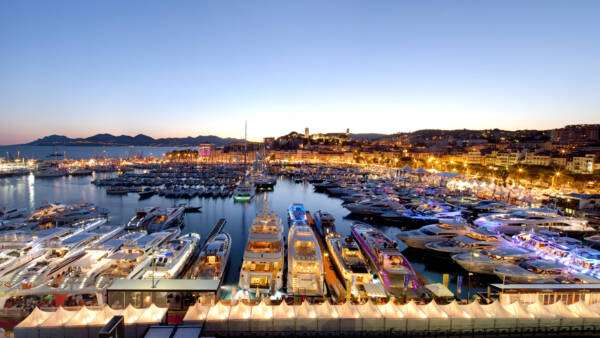 Port at Cannes Boat Show