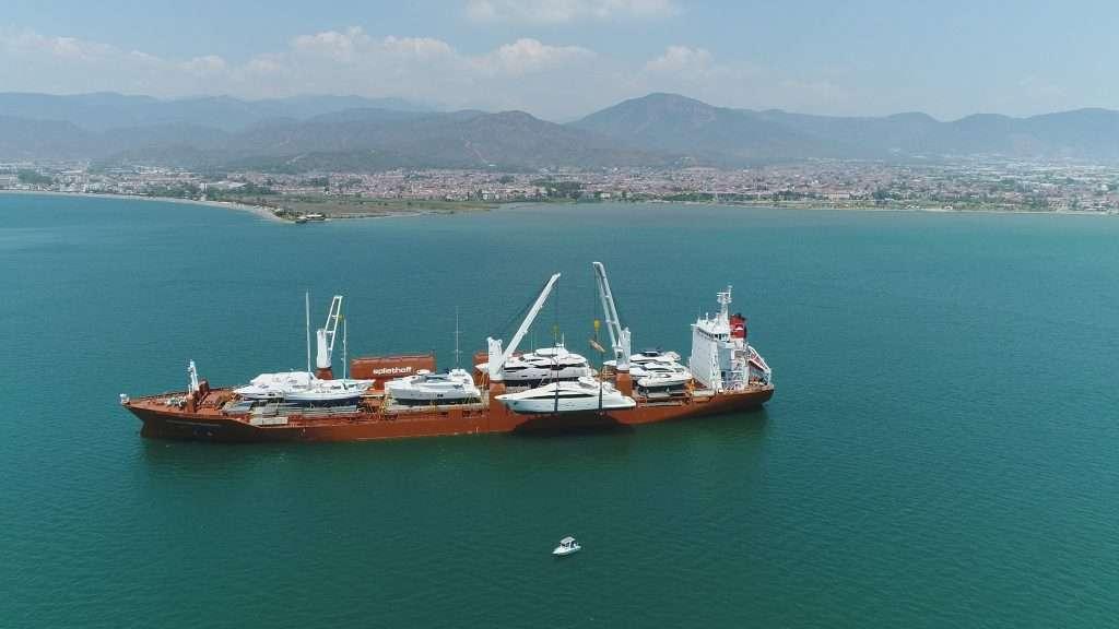 sevenstar yacht delivery transport